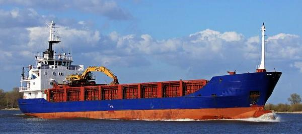 Custom 263' Self Unloader Cargo Ship