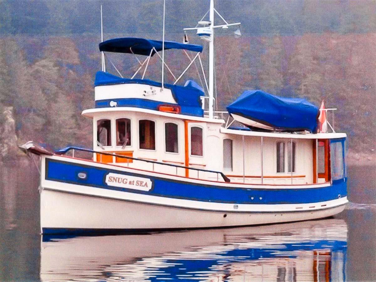 Boatyard Pilgrim 40