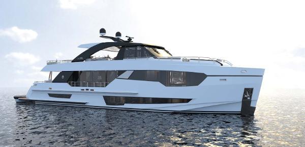 Ocean Alexander 90r Motoryacht Open Bridge