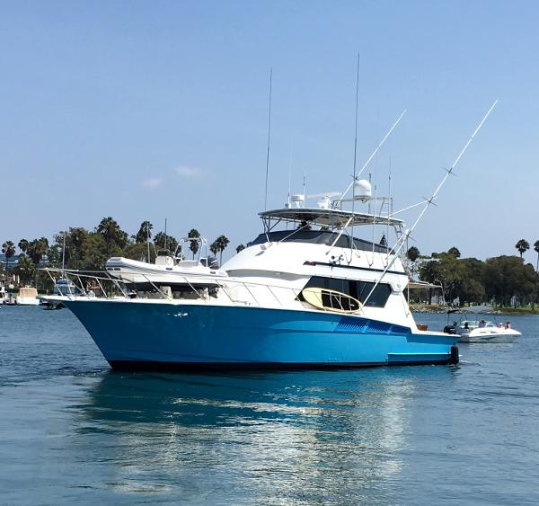 used sports fishing hatteras boats for sale in california