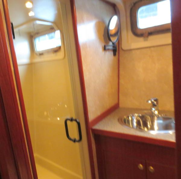 Head/shower at owner's stateroom