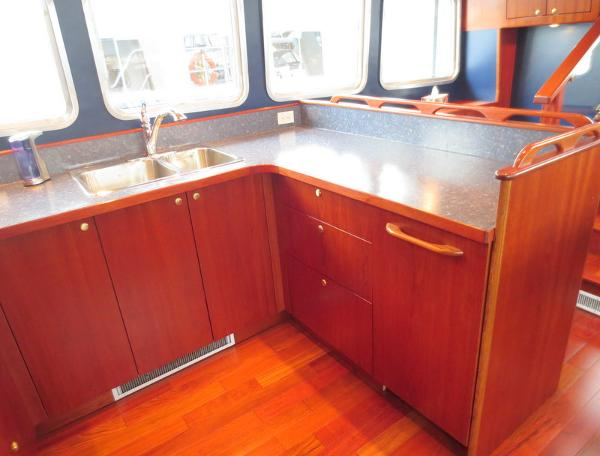 Galley shot on starboard side