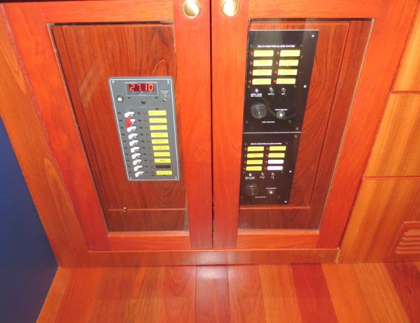 Secondary electrical control panel at PH