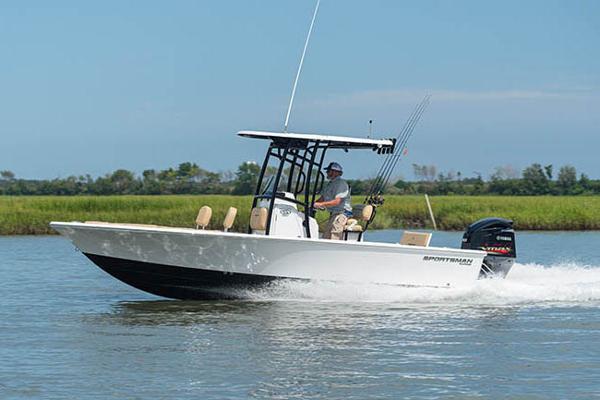Sportsman Masters 227 Bay Boat Manufacturer Provided Image
