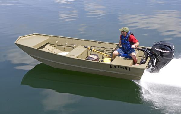 Lund 1448M Jon Boat B10441