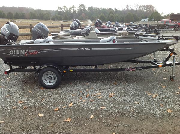 2017 alumacraft crappie deluxe priceville alabama for Crappie fishing boats