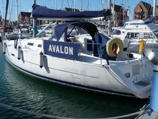 Beneteau Oceanis 323 - Port Side Profile