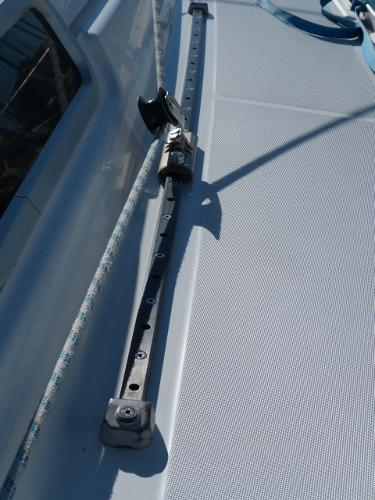 Beneteau Oceanis 323 - Adjustable Genoa Sheet Cars