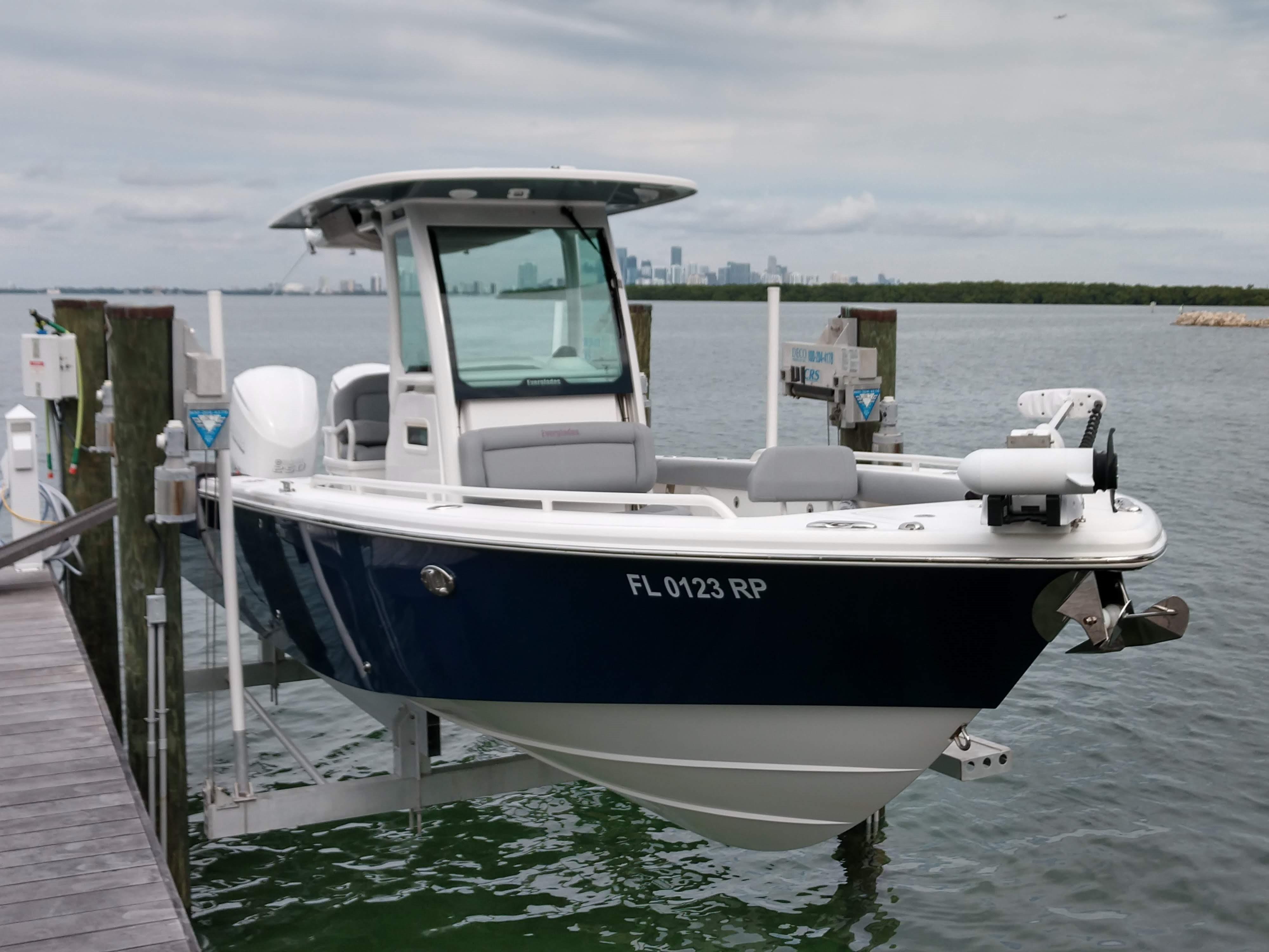 """Boat windshield 32 1//2/"""" center console 1//4/"""" premium plexiglass"""