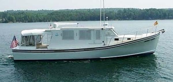 Provincial Downeast Lobster Yacht  - Provincial Boat & Marine Trawler 42' Provincial Downeast Lobster Yacht For Sale