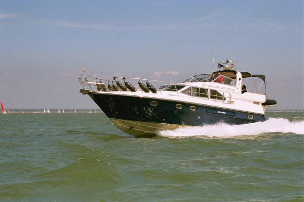 Atlantic 42 Actual boat at sea