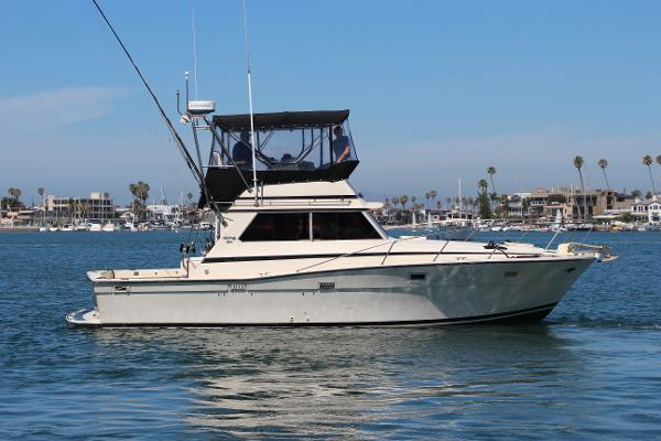 Viking 35 Convertible Starboard Profile