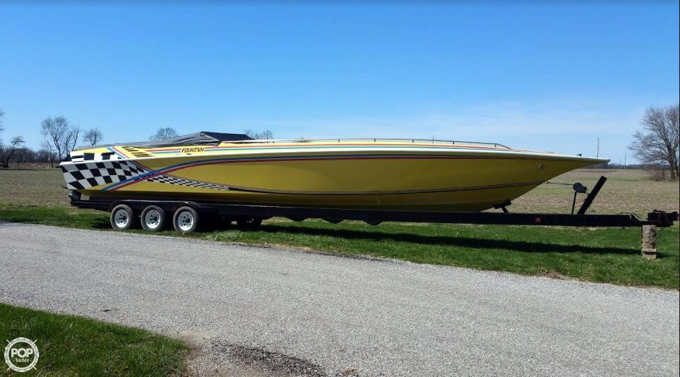 Fountain 12 M Sport Boat 1988 Fountain 12 M Sport Boat for sale in Monticello, IN