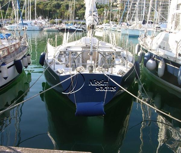 Olympic carter 39 Flush Deck Carter 39 FD at anchor