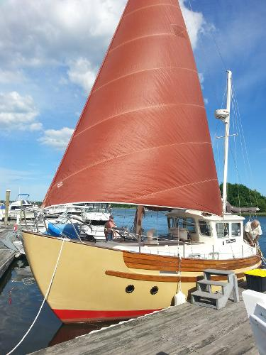Fisher 30 Pilothouse Ketch