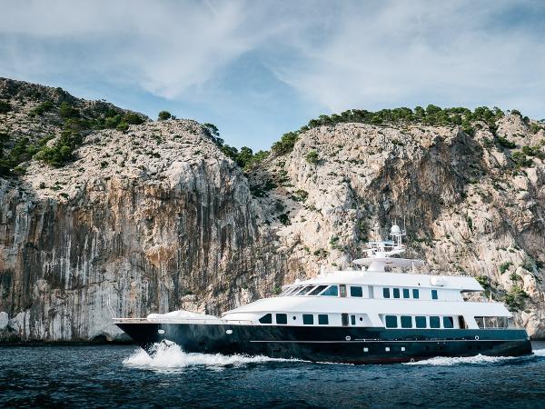 Amels Motor Yacht Side Profile