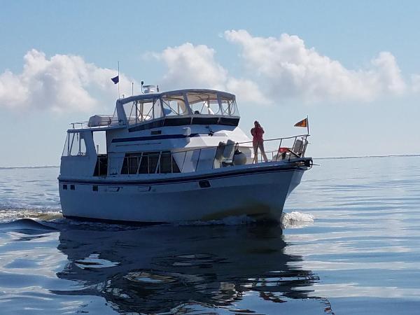 Chb Seamaster 48 Underway