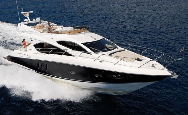 Sunseeker Manhattan 52 Motor Yacht mit Charter Lizenz auf Mallorca zu verkaufen