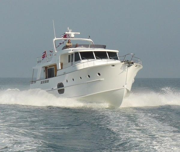 Beneteau Swift Trawler 52 Running Photo - Sistership