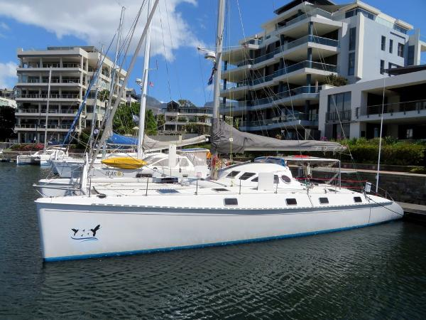Outremer 55 Light Docked