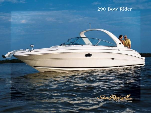 Sea Ray 290 Bowrider Manufacturer Provided Image
