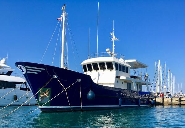 Vripack 69ft steel trawler