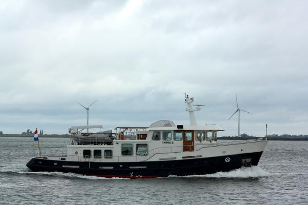 Custom Pilothouse Trawler Yacht