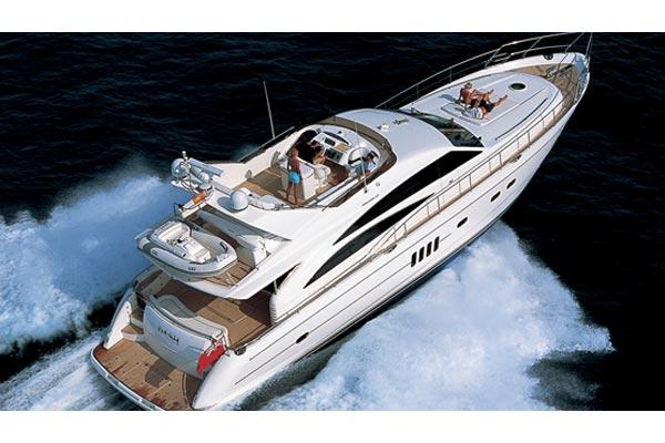 Princess 67 Flybridge Manufacturer Provided Image: Exterior View 1