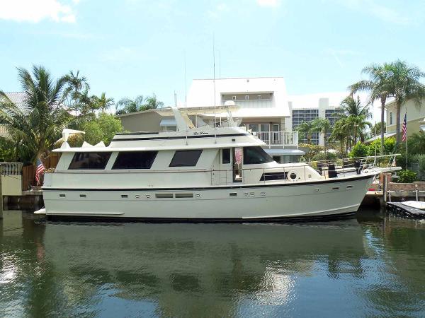 Hatteras Flush Deck Flybridge Motor Yacht