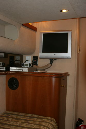 Aft Cabin LCD TV