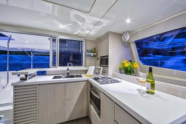 Moorings 4800 Galley