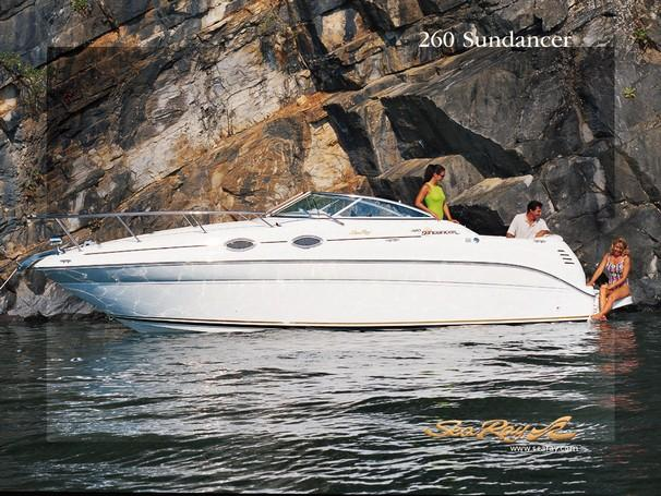Sea Ray 260 Sundancer Manufacturer Provided Image