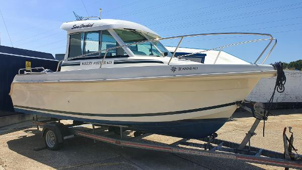 Jeanneau Merry Fisher 625 HB Ashore