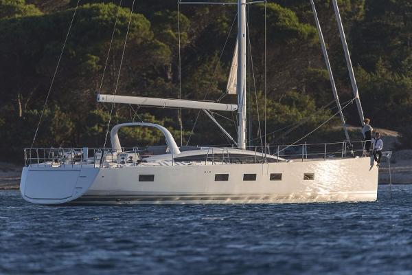 Jeanneau 64 At anchor