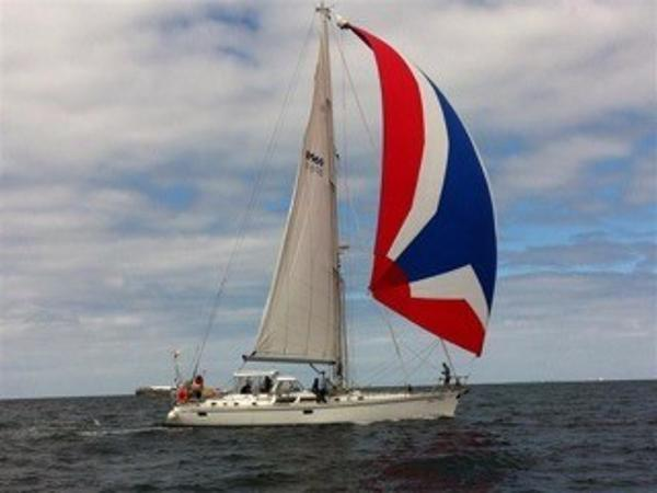 Hylas 54 sailing yacht Under sail