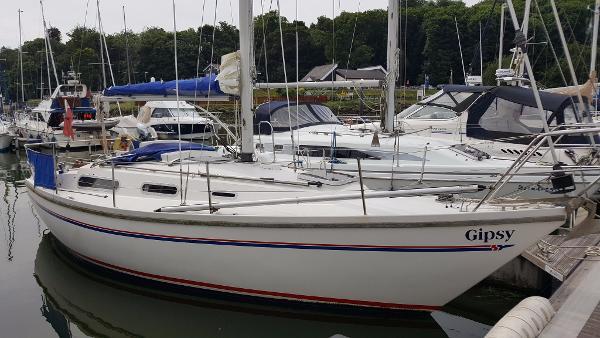 Sadler 29 Visit to Woolverstone Marina.
