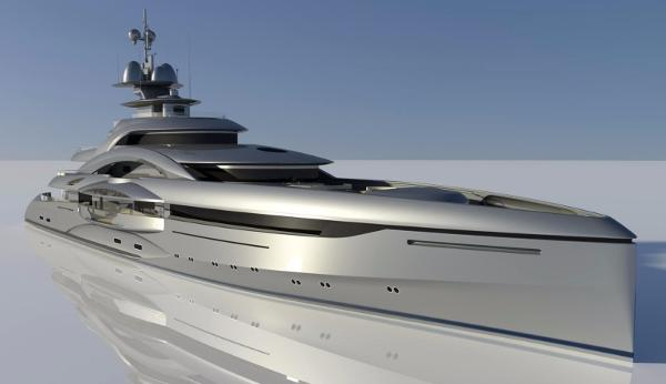 German Built Yacht 90m