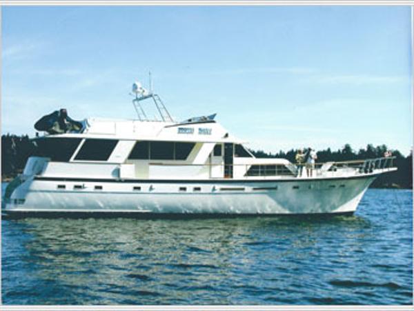 Hatteras Extended Cockpit Motor Yacht