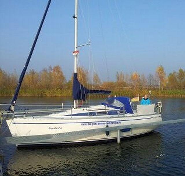Skipper Yachts Arion 29 mit fhrerscheinfreiem Diesel und Straentrailer