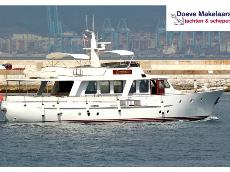 Classic Motoryacht 72', Long range