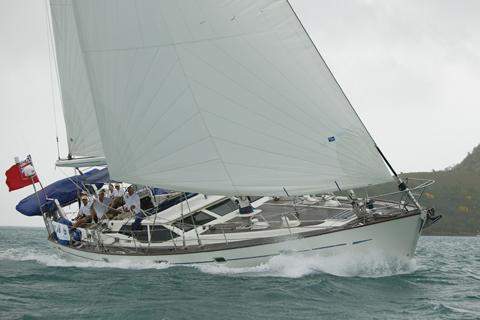 Oyster 56 Sail