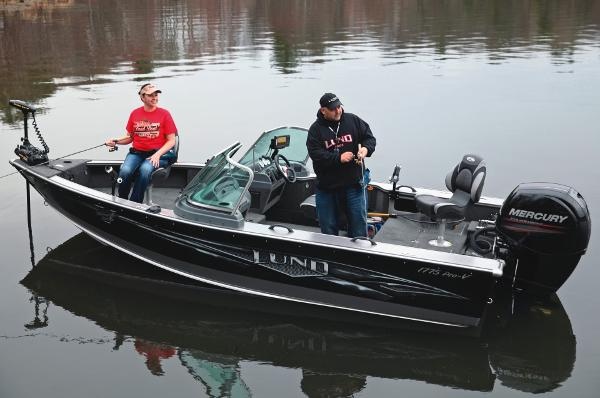 2014 lund 1775 pro v se 2014 fisher for Used fishing boats for sale in wisconsin