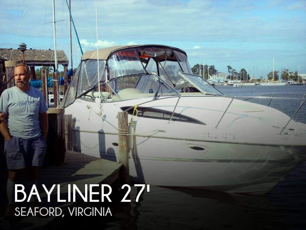 Bayliner Ciera 2655 Sunbridge 2001 Bayliner Ciera 2655 Sunbridge for sale in Seaford, VA