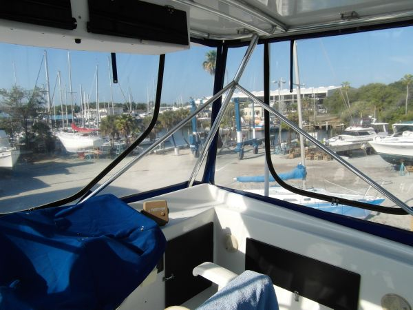 1995 Sportfish View From Flybridge