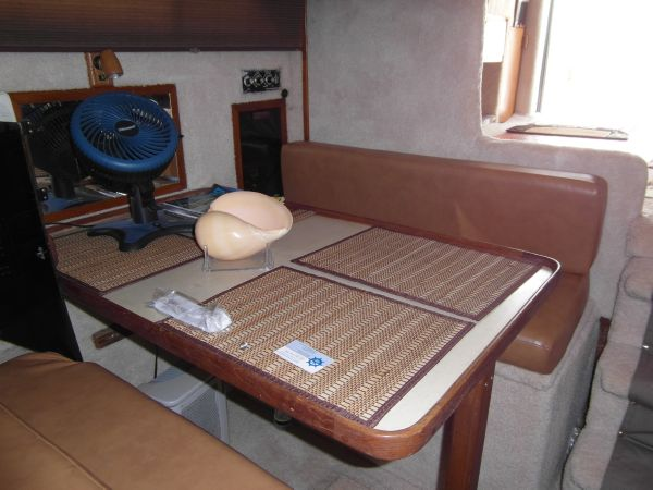 1995 Sportfish Dining Facing Aft