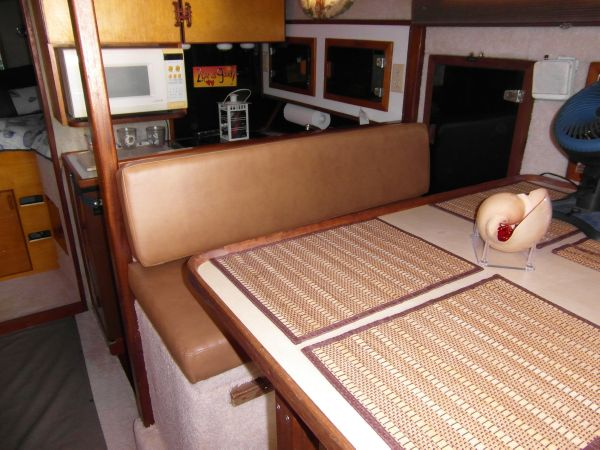 1995 Sportfish Dining Facing Forward