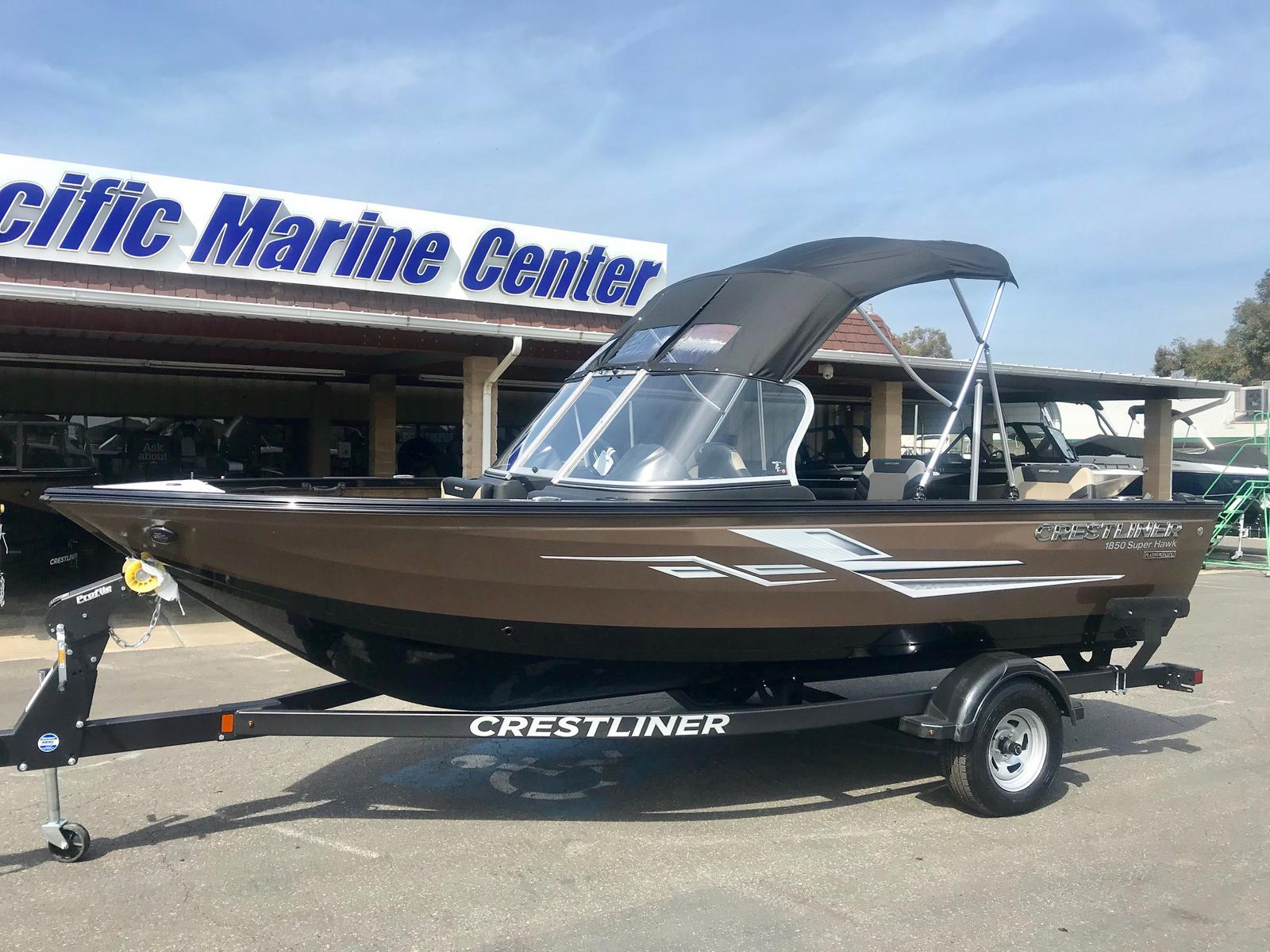 Crestliner 1850 Super Hawk -150hp
