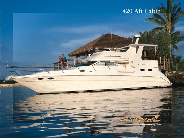 Sea Ray 420 Aft Cabin Manufacturer Provided Image