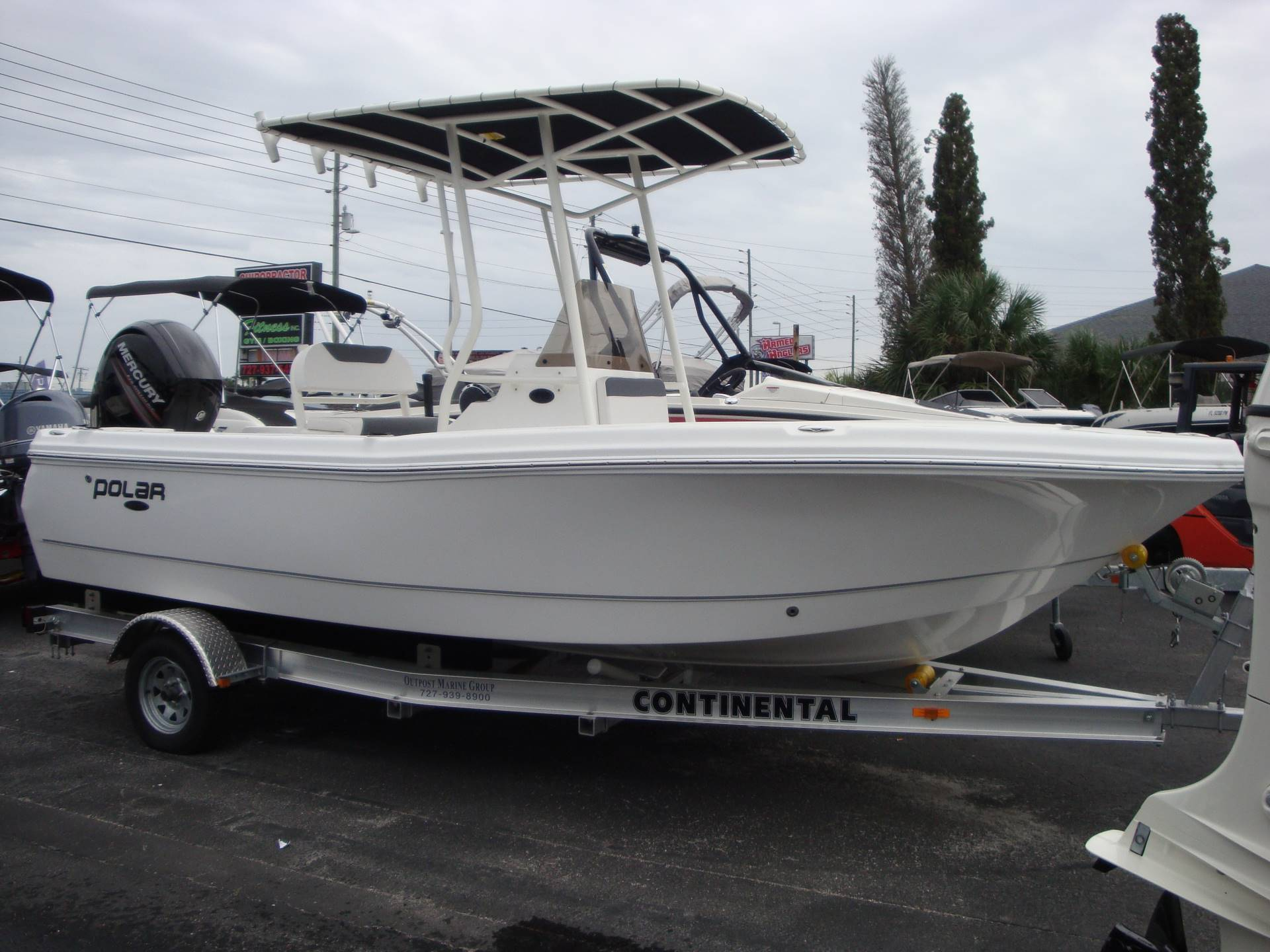 Polar Boats 195 Center Console