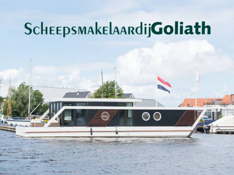 Houseboat Green Loft 1800